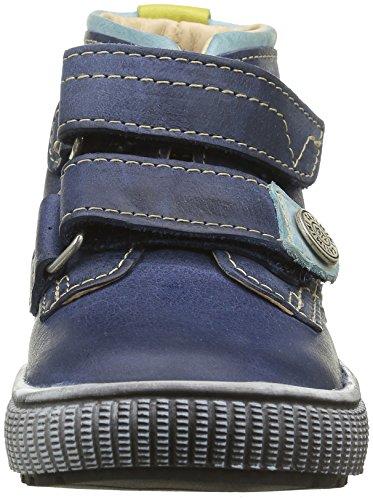 Catimini Cygne, Sneakers Hautes Garçon Bleu (12 Vtu Bleu Dpf/Hippy)