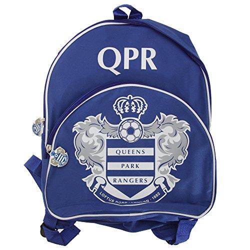 Queens Park Rangers FC Kinder Rucksack mit Club Wappen Blau/Weiß