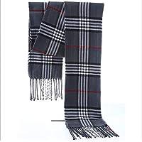 Xiaoyu scarf Bufanda otoño e Invierno Moda Hombres y Mujeres Bufanda algodón Bufanda Caliente (Color : B)