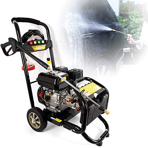 Idropulitrice a benzina da 7,5 cv Benzina a benzina Ugelli ad alta pressione con getto a vapore 5, Pulitore ad alta pressione