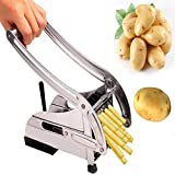 #9: P YU Stainless Steel Home French Fries Potato Chips Strip Cutting Cutter Machine Maker Slicer Chopper Dicer