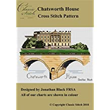 Chatsworth House Cross Stitch Pattern
