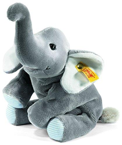Steiff 281259 - Trampili Elefant liegend, 16 cm, grau (Große Plüsch-eichhörnchen)