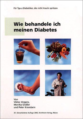 Wie behandele ich meinen Diabetes