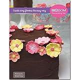 Primula & Multi Fower Kuchen dekorieren Set–Silikon Ausstecher Äderung Förmchen &