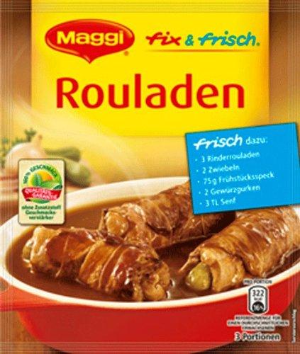 Preisvergleich Produktbild Maggi Fix Rouladen,  42er Pack (42 x 34 g)