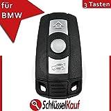 BMW 3 Tasten Fernbedienung Schlüsselrohling HU92 Gehäuse Funkschlüssel Ersatz E60 E61 Neu