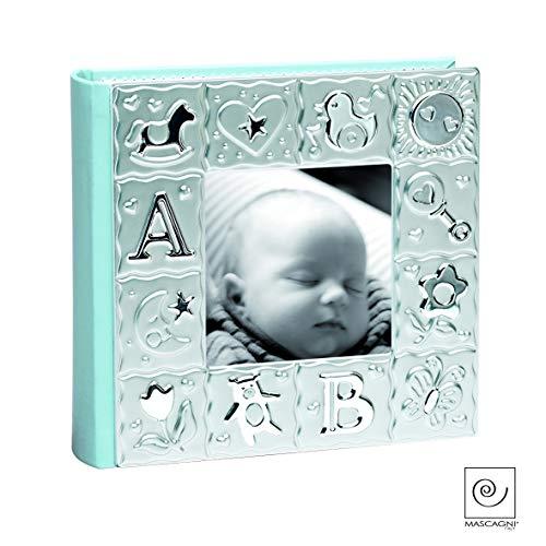 Quadro album bambino blu per 100foto a tasche 10x 15