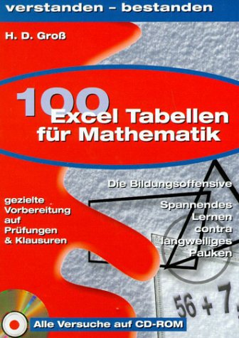 100 Excel-Tabellen - Mathematik (Kl. 8-13)