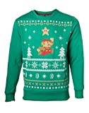 Nintendo–Jumping Mario Christmas Sweater–Maat XL