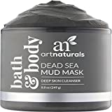 ArtNaturals Dead Sea Mud Mask - for Face, Body & Hair - 100% Natural and Organic Deep Skin Cleanser - Face Mask Clears Acne, Reduces Pores and Wrinkles, Ultimate Spa Quality, Mineral Infused Additive Free - 260 ml