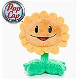 Plants vs Zombies * Peluche Figura Sunflower Girasol 15cm - original & official licensed