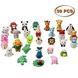 Twister.CK 30 Pz Set giocattolo in gomma animale, materiale per commestibile TPR per bambini, bomboniere, giocattoli educativi per animali