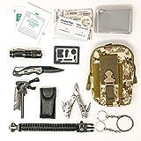 Felbridge Green Außen Notfall Survival Kit mit Multitool Zangen Set und Paracord Armbänd Für Camping, Bushcraft, Wandern, Jagd und Ihr Outdoor Abenteuer …