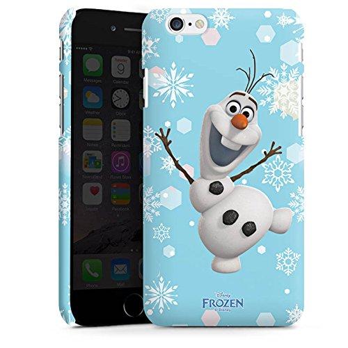 Apple iPhone X Silikon Hülle Case Schutzhülle Disney Frozen Olaf Geschenk Fanartikel Premium Case matt