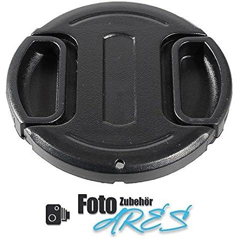 Ares fotográfico ® Tapa de objetivo de 58mm para Nikon AF P DX NIKKOR 70–300mm 1: 4,5–6,3g ED (rosca de filtros de 58mm)