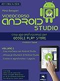 Videocorso Android Studio. Volume 2: Crea app professionali per Google Play Store (Italian Edition)