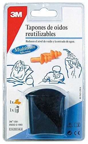 3M RT000937990 Tapones reutilizables deportes acuáticos