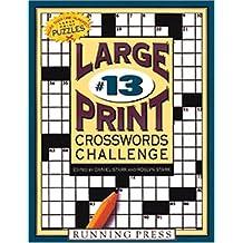 Large Print Crosswords Challenge