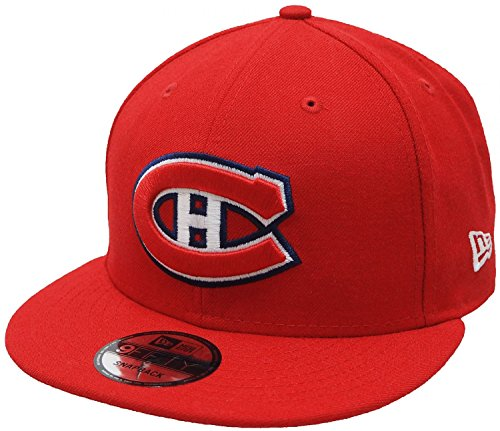 MONTREAL CANADIENS - NEW ERA 9FIFTY SNAPBACK - TEAM COLOR - RED (Caps Canadiens Montreal)