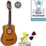 """Guitare acoustique Taille 1/4(31"""") Cordes en nylon pour guitare Quarter 1/4 31 inch Garcia Natural"""