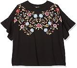 New Look Mädchen T-Shirt Floral Puff Yoke Frill Sleeve