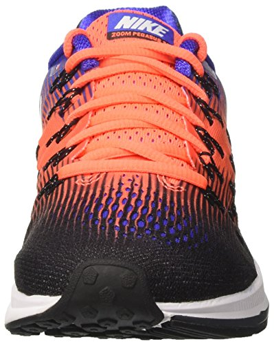Nike Herren Air Zoom Pegasus 33 Laufschuhe Schwarz (Black/white/hyper Orange/paramount Blue/anthracite)