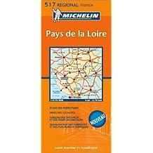 Carte routière : Pays-de-la-Loire