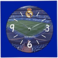 Real Madrid C.F. Real Madrid Despertador, Unisex Adulto, Azul, Talla Única