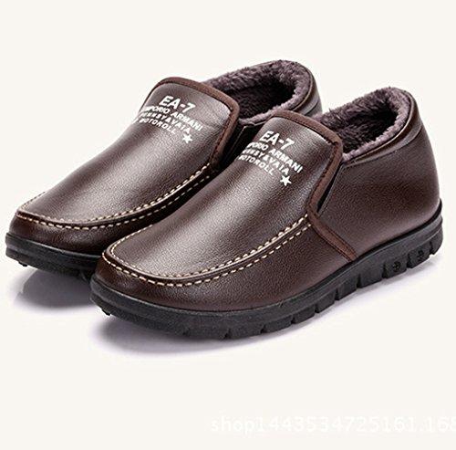 XTIAN , chaussons d'intérieur homme Marron
