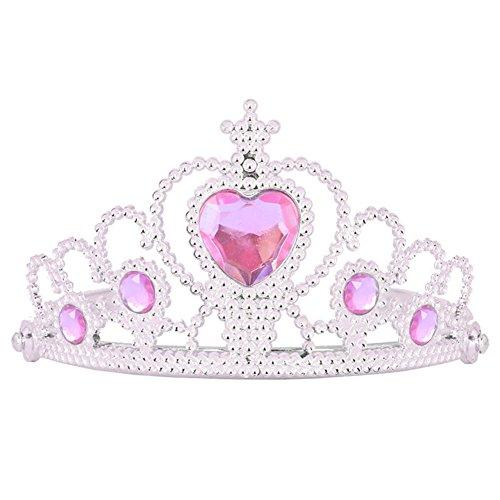 Das beste Tiara für Mädchen Abschlussbälle Festzüge Princess Party Krone Geburtstag (Königin Der Schwerter Erwachsenen Kostüme)