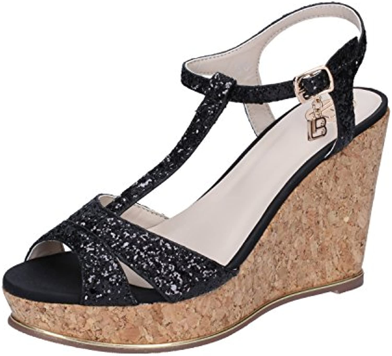 laura biagiotti sandales noir noir noir de mode féminine b078yb231y parent | Une Forte Résistance à La Chaleur Et Résistant à L'usure  bde357