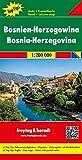 Freytag Berndt Autokarten, Bosnien-Herzegowina, Top 10 Tips, Autokarte 1:200.000: Toeristische wegenkaart 1:200 000 (freytag & berndt Auto + Freizeitkarten)