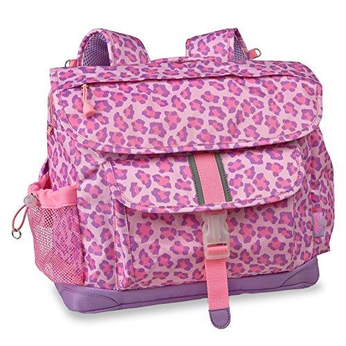 bixbee-sassy-spots-leopard-backpack-pink-large