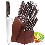 homgeek Couteaux de Cuisine, Ensemble de Couteaux...