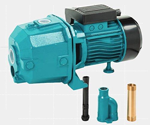 Wasserpumpe 750 W 230V Ansaughöhe 23 M 2520 L/Std Jetpumpe Gartenpumpe Kreiselpumpe
