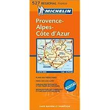 Carte routière : Provence-Côte-d'Azur