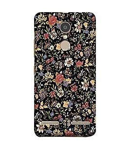 Fuson Designer Back Case Cover for Lenovo K6 Power ( Ethnic Pattern Patterns Floral Decorative Abstact Love Lovely Beauty )