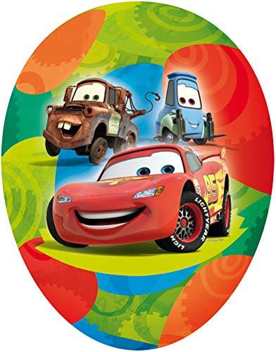 Nestler XXL Osterei Disney Cars Pappei 35cm Füllei Pappeier zum Befüllen Dekoei Papposterei Geschenk Ostern Osterei (Cars)