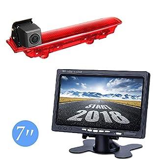 Misayaee-Auto-Dritte-Dach-Top-Mount-Bremsleuchte-Kamera-Bremslicht-Rckfahrkamera-fr-VW-T5-T6-TransporterCaravelleMultivan-2010-2018-70-Zoll-DVD-Monitor-TFT-Bildschirm-LKW-KFZ-LCD-Display