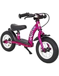 BIKESTAR® Original Premium Sicherheits-Kinderlaufrad für kleine Abenteurer ab 2 Jahren ★ 10er Classic Edition ★ Bezaubernd Berry Violett