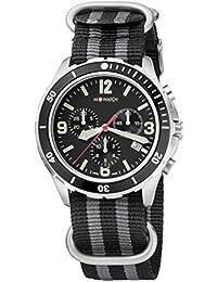 M-WATCH Swiss Made Aqua Steel 41 Analog Black Dial Men's Watch-WBD.14420.NB