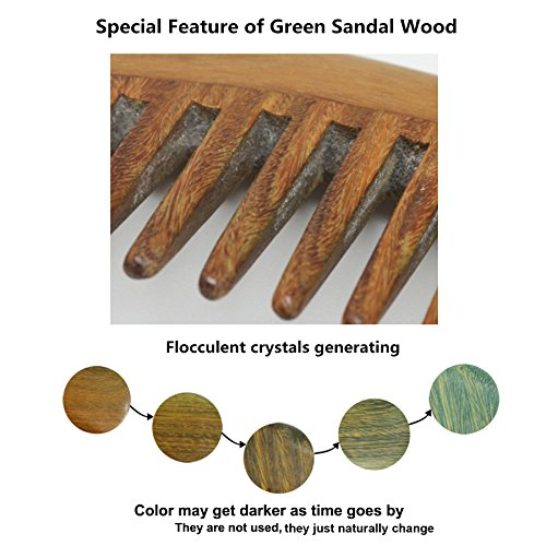 Meta-C-Natural-Green-Sandal-Wood-Handmade-Comb-with-Special-Thickening-Handle