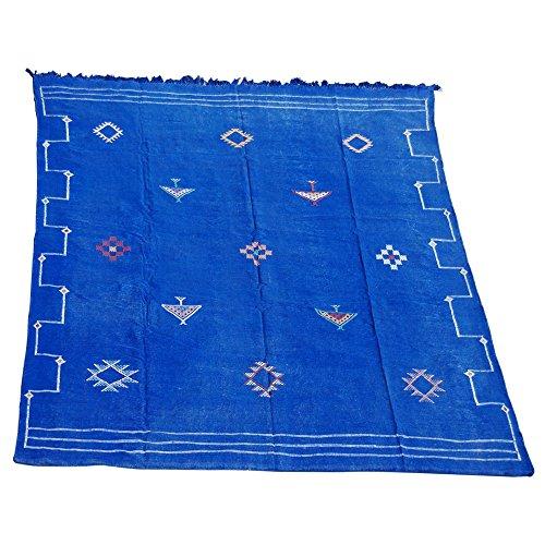 Berber Cottage Industrie Kilim marocain Bleu