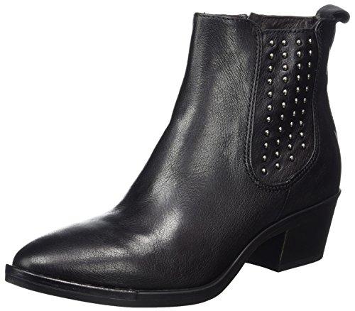 Mjus Damen 187209-0101 Cowboy Stiefel, Schwarz (Nero), 38 EU (Leder-cowboy-stiefel Schwarze)