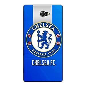 Jugaaduu Chelsea Back Cover Case For Sony Xperia M2