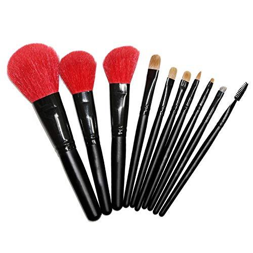 HHF Pinceaux à maquillage Maquillage Pinceau Set Cosmétique Brosse Visage Brosse Montagne Laine Brosse Maquillage Pinceau Set Super Doux Et Mignon Haut Niveau Usage Feeling 10pcs