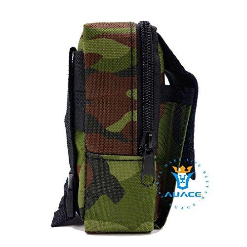 Multifunktions Survival Gear Tactical Beutel MOLLE Tasche erkennen Taille Bag, Outdoor Camping Tragbare Travel Bags Handtaschen Werkzeug Taschen Handy Tasche MC