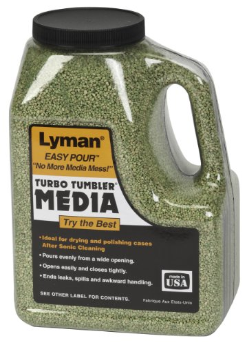 Lyman Corncob Media Treated EASY POUR CONTAINER 2.25 Lbs LY7631307