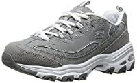 Skechers D'lites Me Time Women's Trainers fitness Memory Foam grey